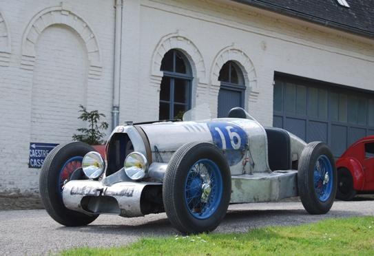 1100cc en duralumin du Bol d'Or 1949