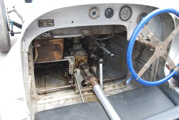 intérieur de la 1100cc de 1949