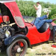 Acrobatiques les interventions dans le Darmont 4 roues Junior