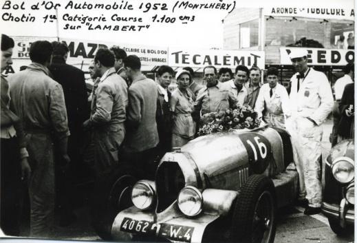 Arrivee du Bol d'Or 1952