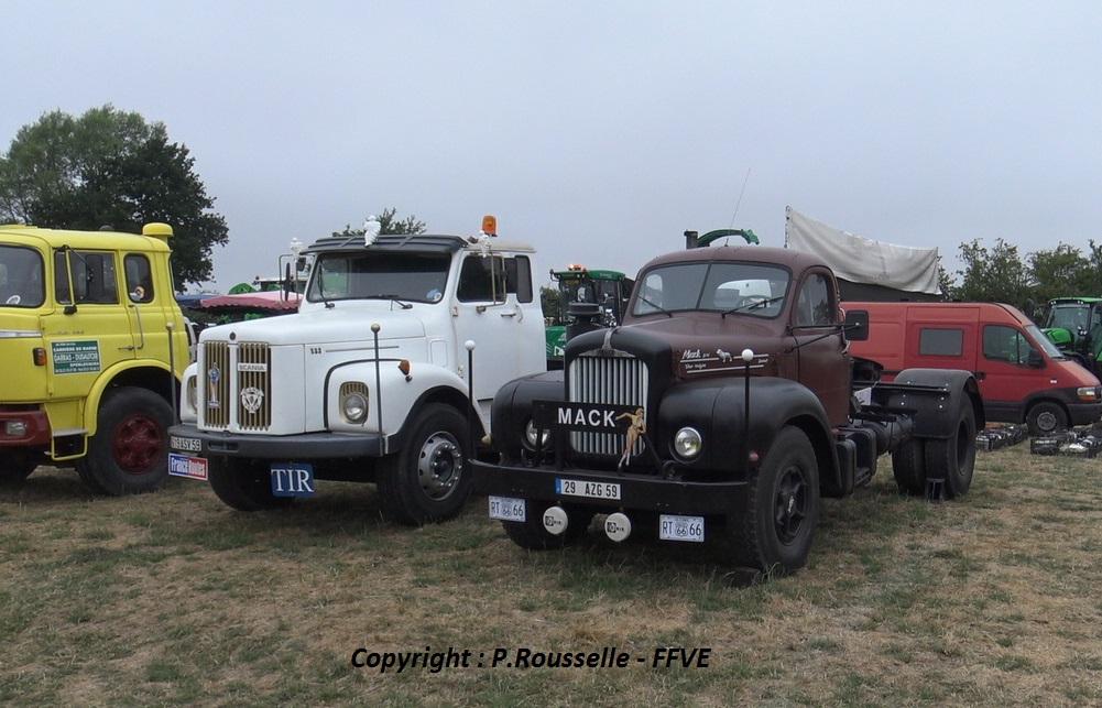 Berliet - Scania - Mack