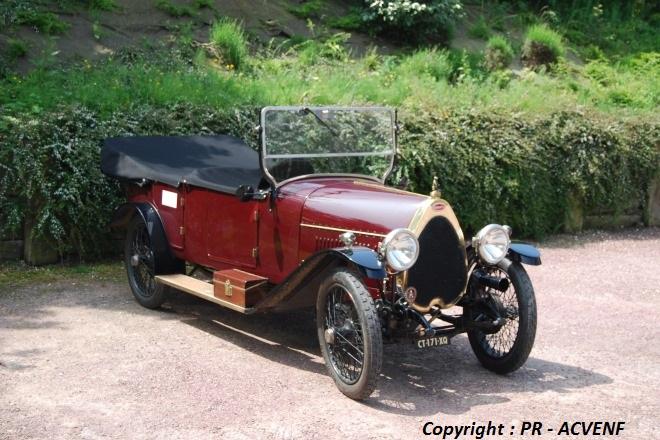 Bugatti 23 Brescia torpédo 1921