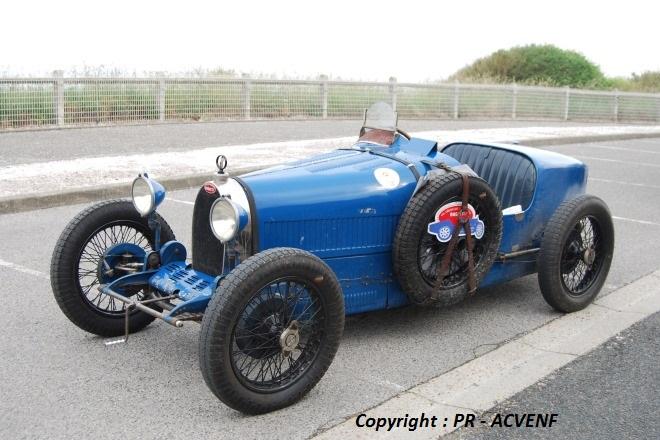 Bugatti 35A au Tréport