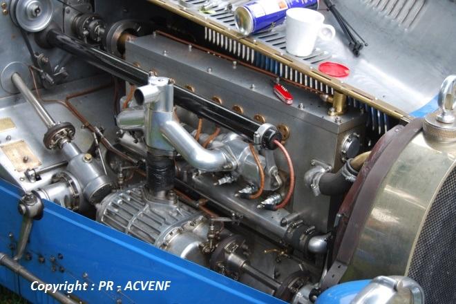 Bugatti 35B - Moteur