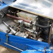 Bugatti 37 à Compresseur - Moteur