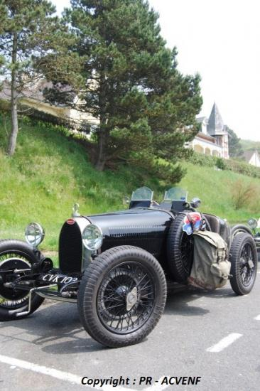 Bugatti 37 au Bois de Cise