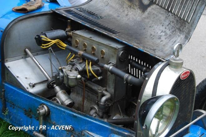 Bugatti 37 - Moteur