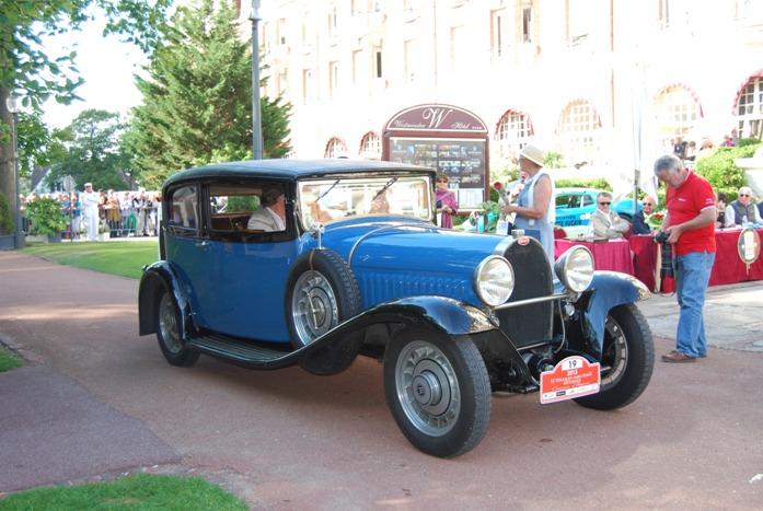 Bugatti 49 Coach VanVooren 1931