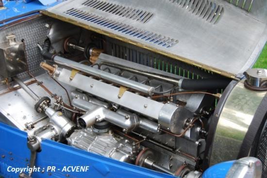Bugatti 51 - Moteur
