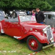Citroen 11BL cabriolet production Forest