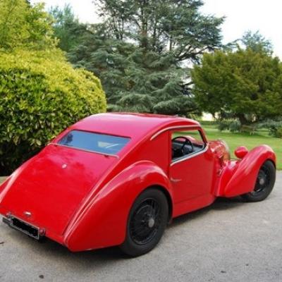 La berlinette 1100cc de 1948