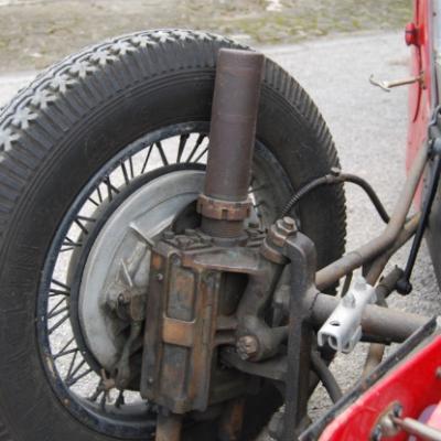 Suspension hydraulique à ressorts à boudin