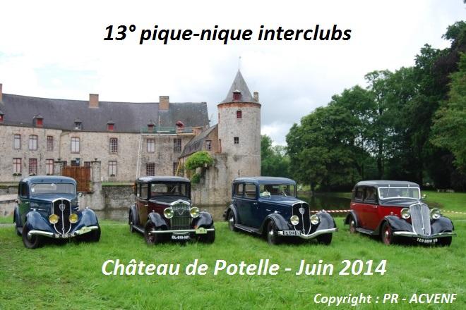 Pique Nique 2014 - Chateau de Potelle