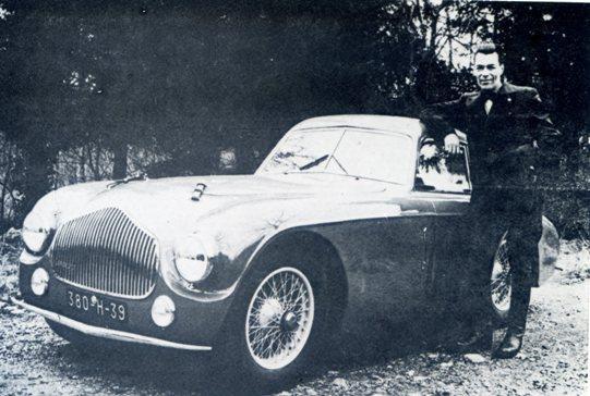 Germain Lambert et son coupe Torino de 1953