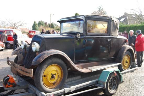 Renault Monasix cabriolet à restaurer : vendue rapidement