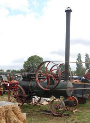 Locomobile à vapeur RANSOMMES 1900