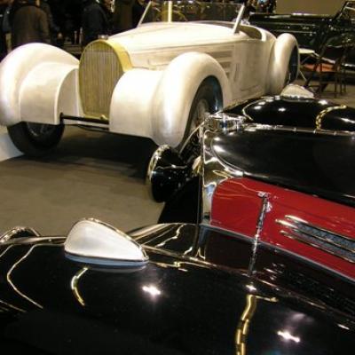 Du côté des restaurateurs : Bugatti 57S Atalante et Bugatti 57 roadste