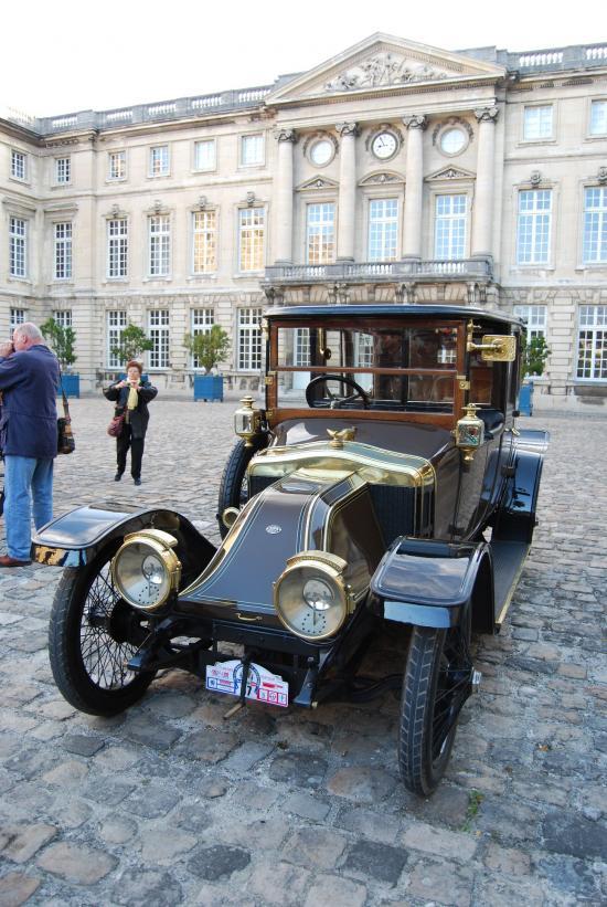 CHARRON Coupé Landaulet par LEFFROY 1912