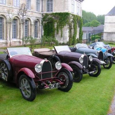 D'autres Bugatti à Valloires