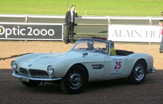 BMW 507 provenant de la collection d'Eric Traber en Suisse