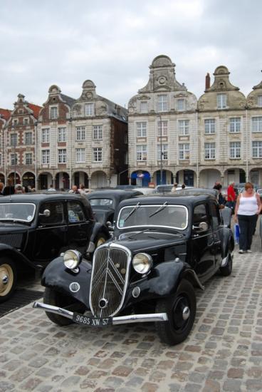 Sur les Places d'Arras