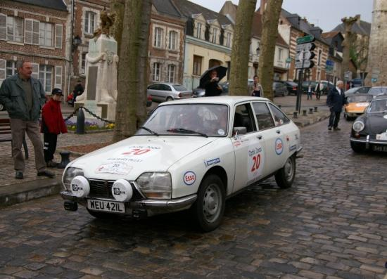 Citroen GS venant de Hollande