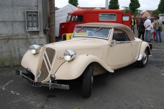 Traction 15-6 cabriolet Authentique 1939