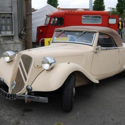 Traction 15-6 cabriolet Authentique 1939