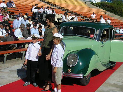 Le Concours d'Elegance en automobile