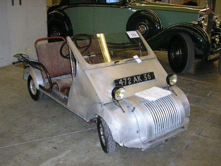 Biscooter Voisin N° 6 de 1953