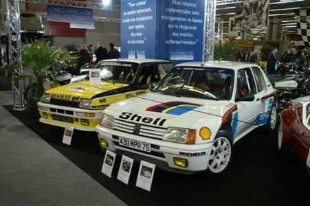 Du côté des Youngtimers: 205 T16 et R5 Turbo