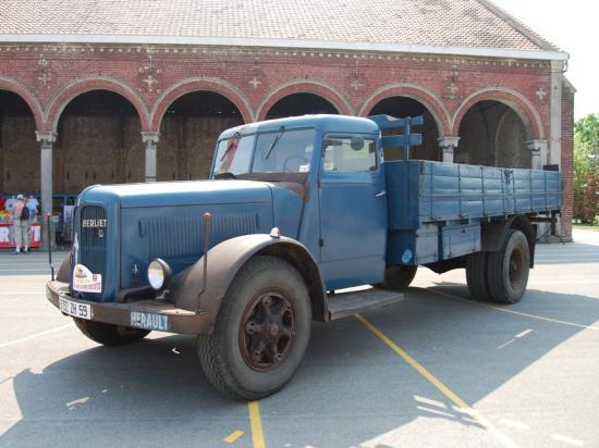 Camion Berliet d'origine