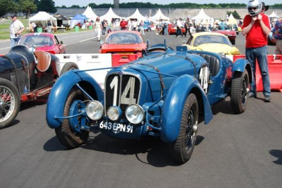 Unique et authentique Delahaye 135S Le Mans 1938