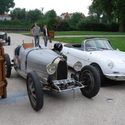 Bugatti et Alpine cabriolet