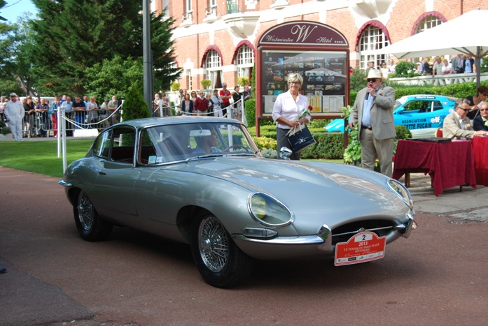 Jaguar Type E coupe 1965