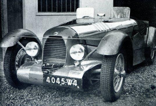 La 1100cc du Bol d Or 1951