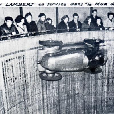Le Mur de la Mort en Lambert