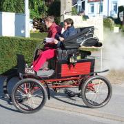 Locomobile à vapeur 1900