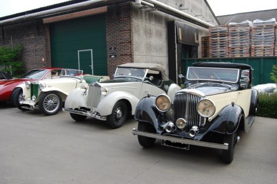 MG TB - Lancia Labourdette - Bentley