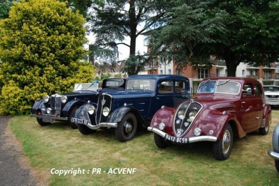 Quelques avant-guerre : MG et Peugeot