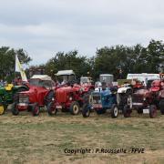 Quelques tracteurs exposés