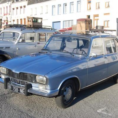 Renault 16 TL en partance pour la pêche