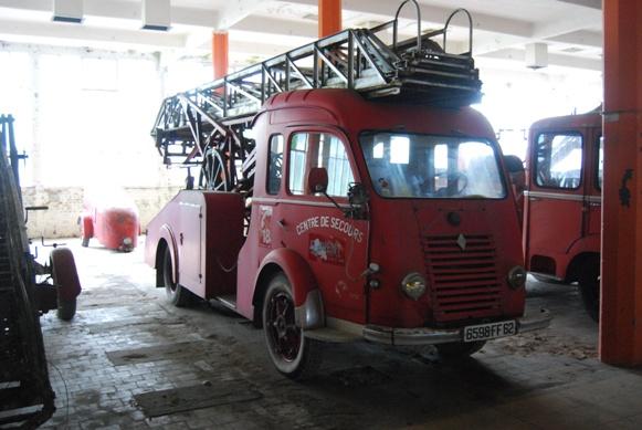 Renault Galion porte échelle