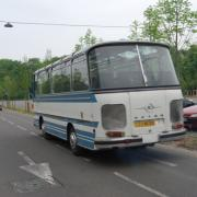 Route des vacances -  Car Setra sur la route