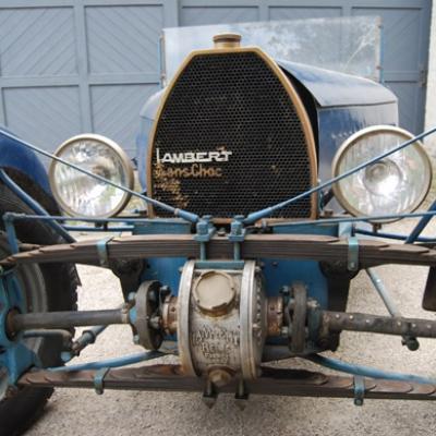 La Sans Choc de 1933 chassis 001: traction avant à roues indépendantes