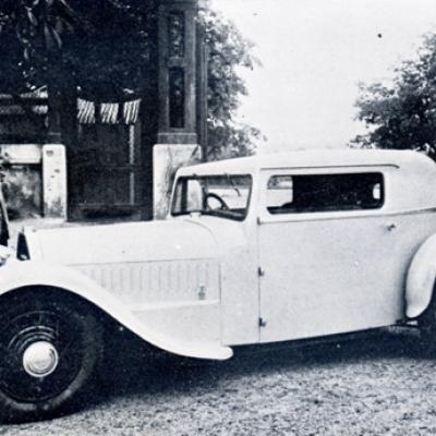 Sans Choc coach de 1933
