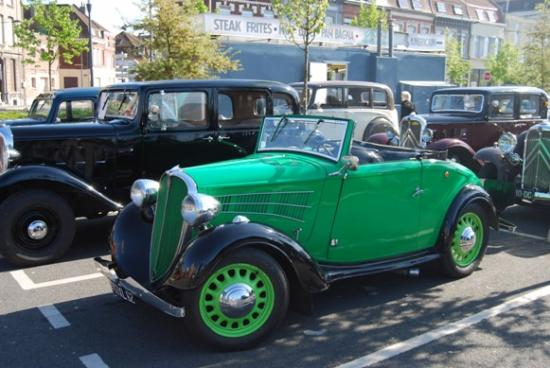 Simca Fiat Balilla cabriolet 1937