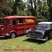 Simca Versailles et Citroen Type H