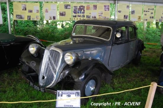 Traction 11A 1934 berline