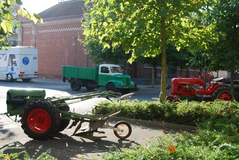 Vue générale 2012: les engins agricoles